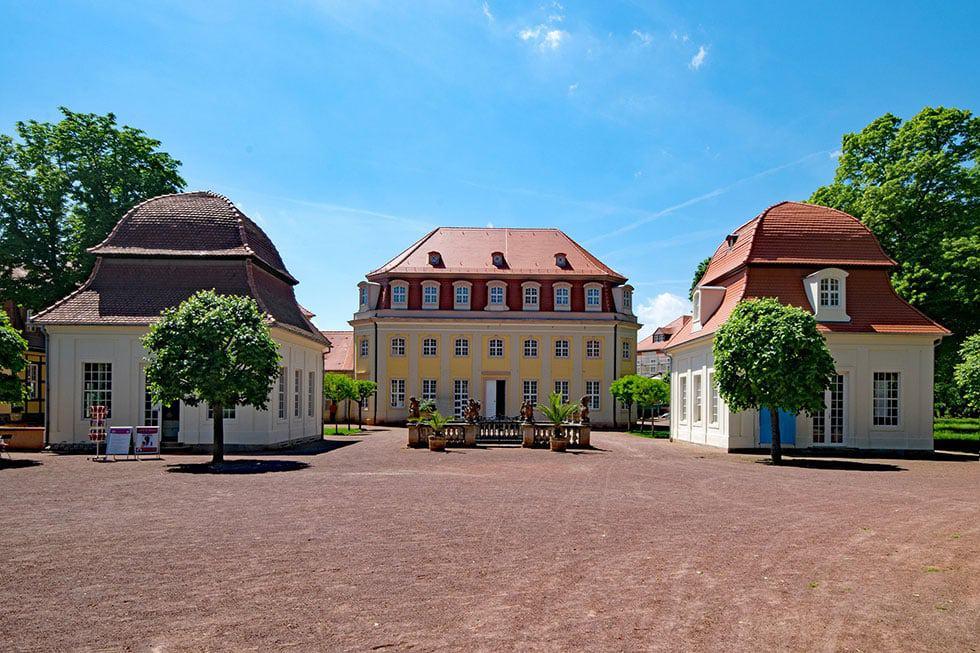 Kurhaus Pavillon Kurpark Bad Lauchstädt