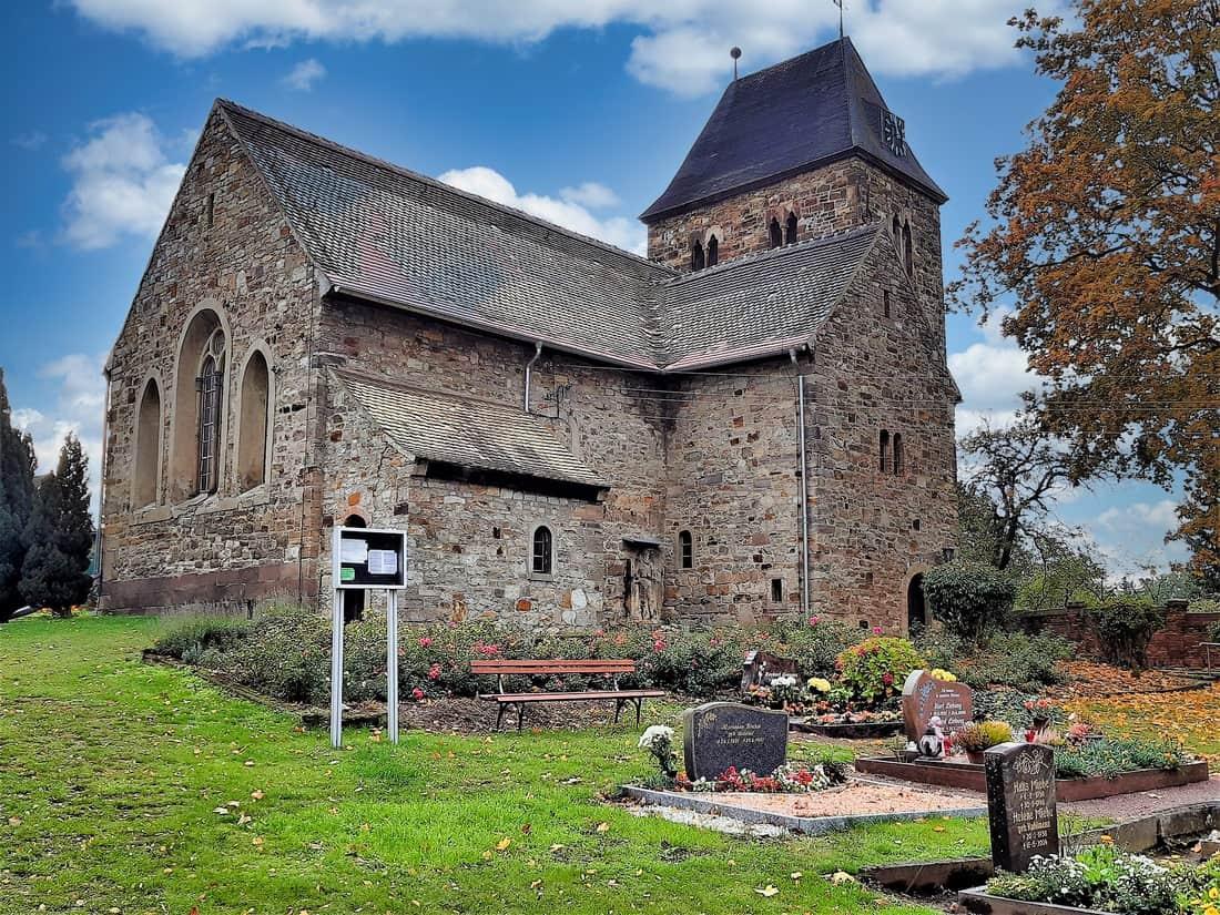 Dorfkirche Delitz am Berge Bild: Catatine CC0