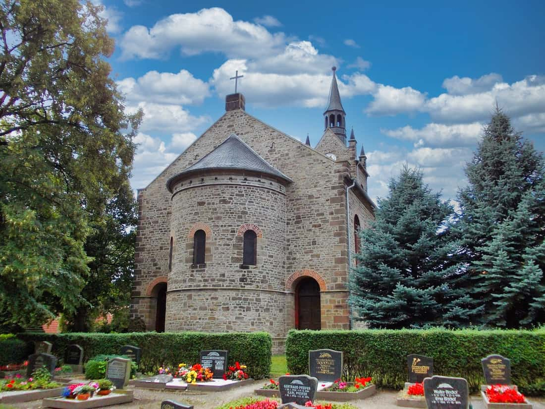 Kirche St. Maria Kriegstedt Milzau Bild: Jwaller CC BY-SA 3.0