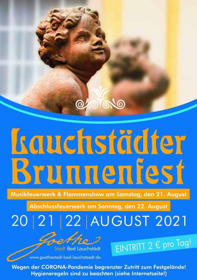 Plakat Bad Lauchstädter Brunnenfest